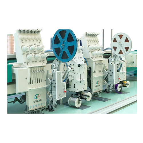 Tapping embroidery machine